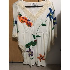 Vintage caftan tunic or dress